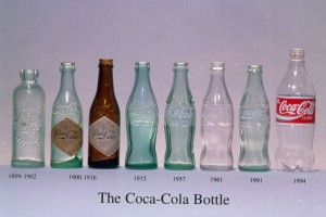Evolution of soda bottle size - Paleo diet follows avoid soda