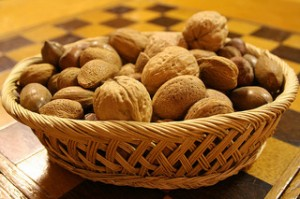 A basket of nuts - Paleo Diet friendly