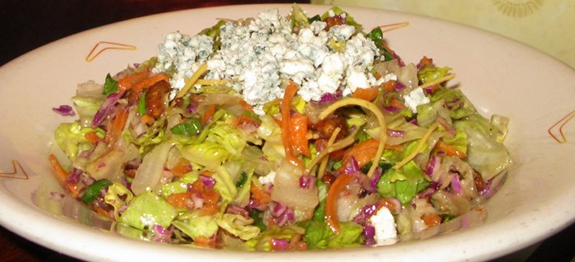 Outback blue cheese vinaigrette dressing nutrition
