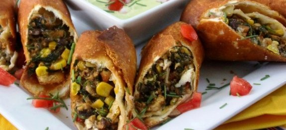 recipe: southwest chicken egg rolls [14]